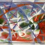 Abstract Speed + Sound, Джакомо Балла