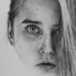 портрет-девушки-карандашом