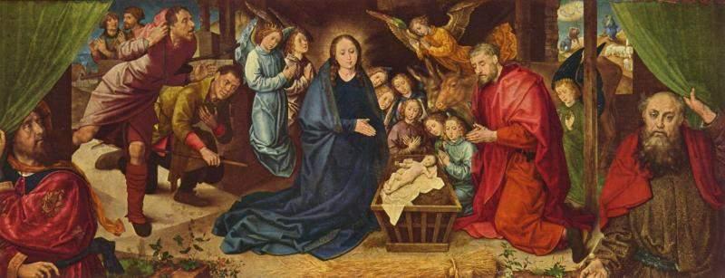 Поклонение пастухов. 1480