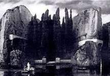 «Остров мёртвых» 1884