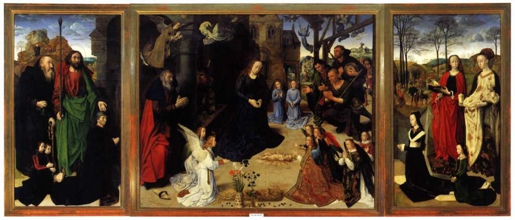 """Триптих Портинари"" 1475-1476"