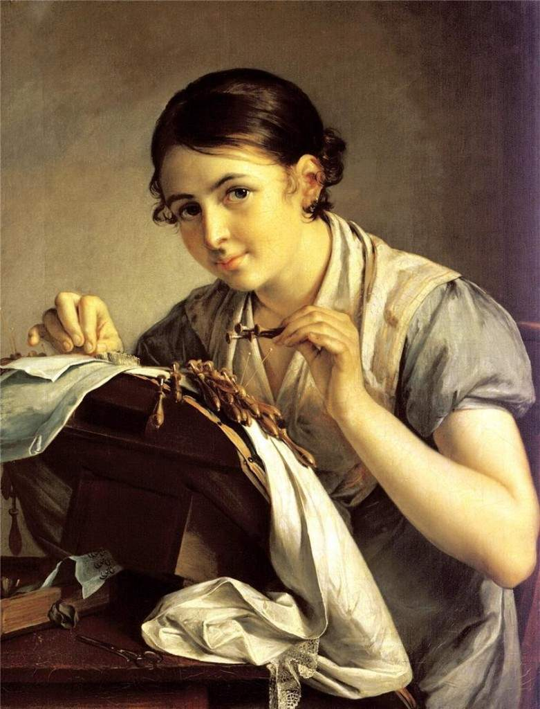 """Кружевница"" 1823"