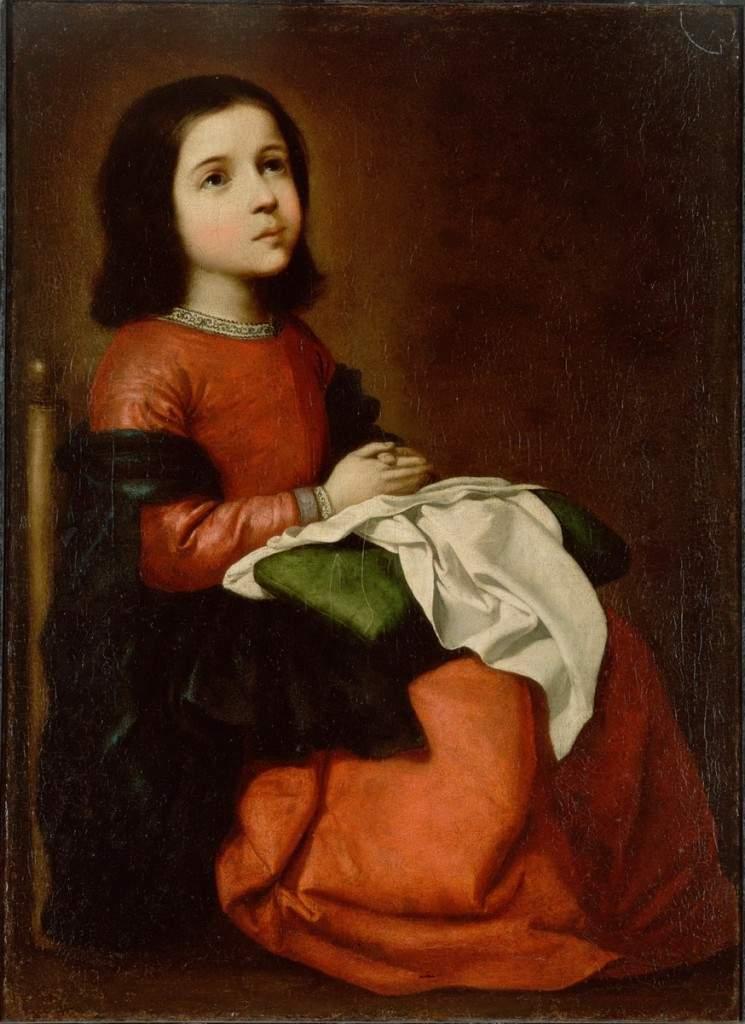 Отрочество Мадонны Между 1658-1660