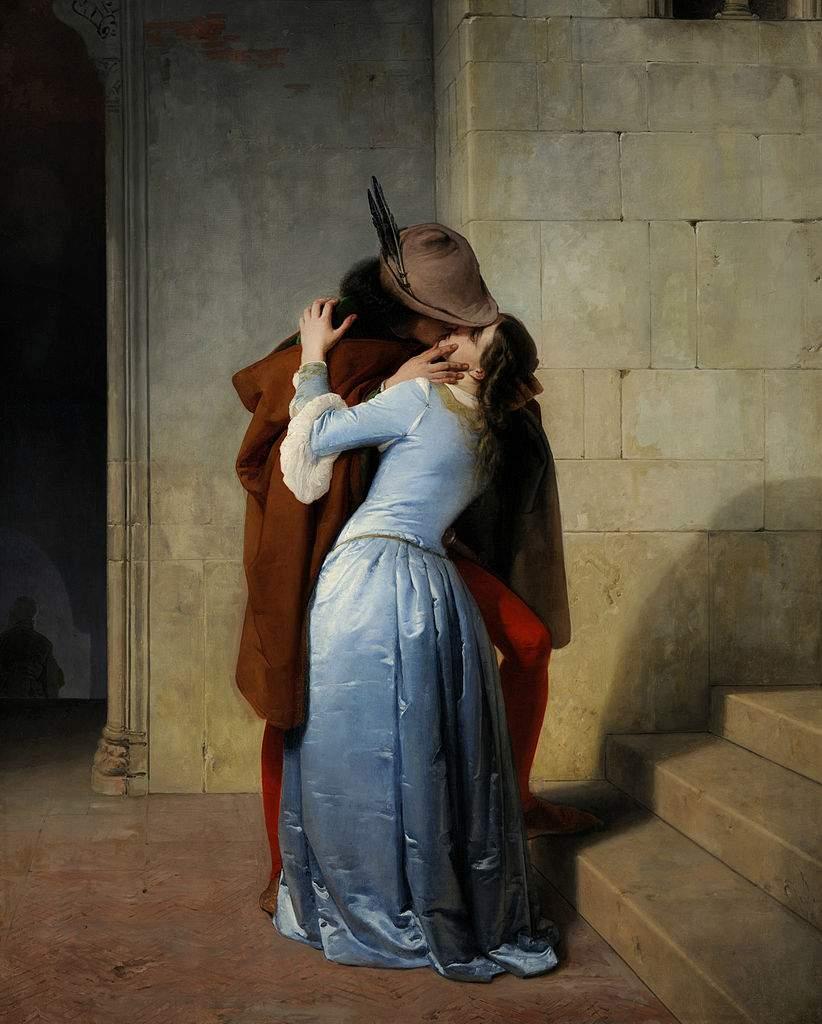 «Поцелуй» 1859
