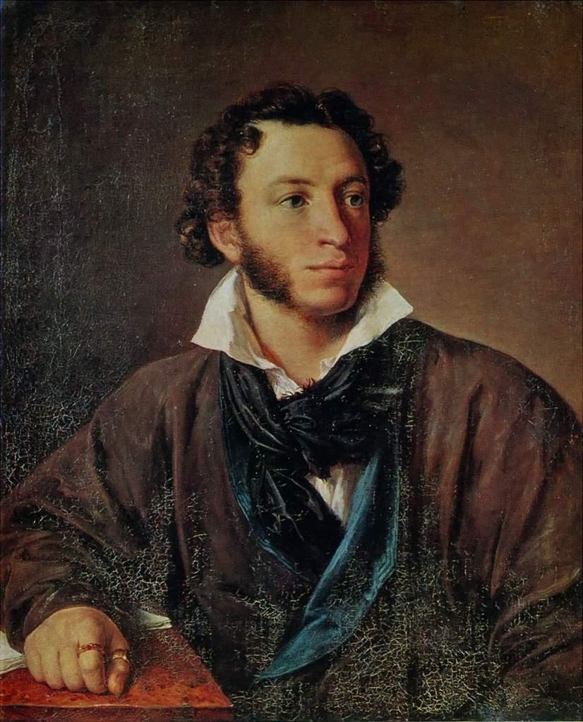 Портрет А. С. Пушкина, 1827г