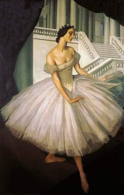 Балерина Анна Павлова, А.Е.Яковлев
