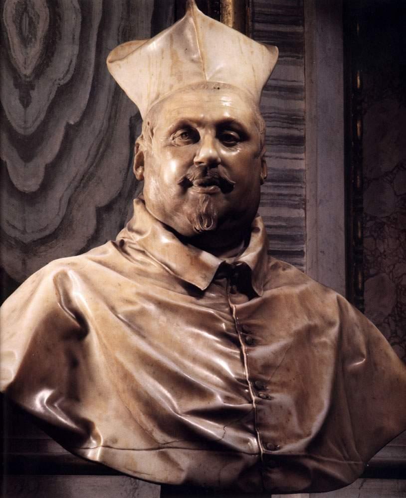 Бюст Кардинала Сципиона Боргезе 1630