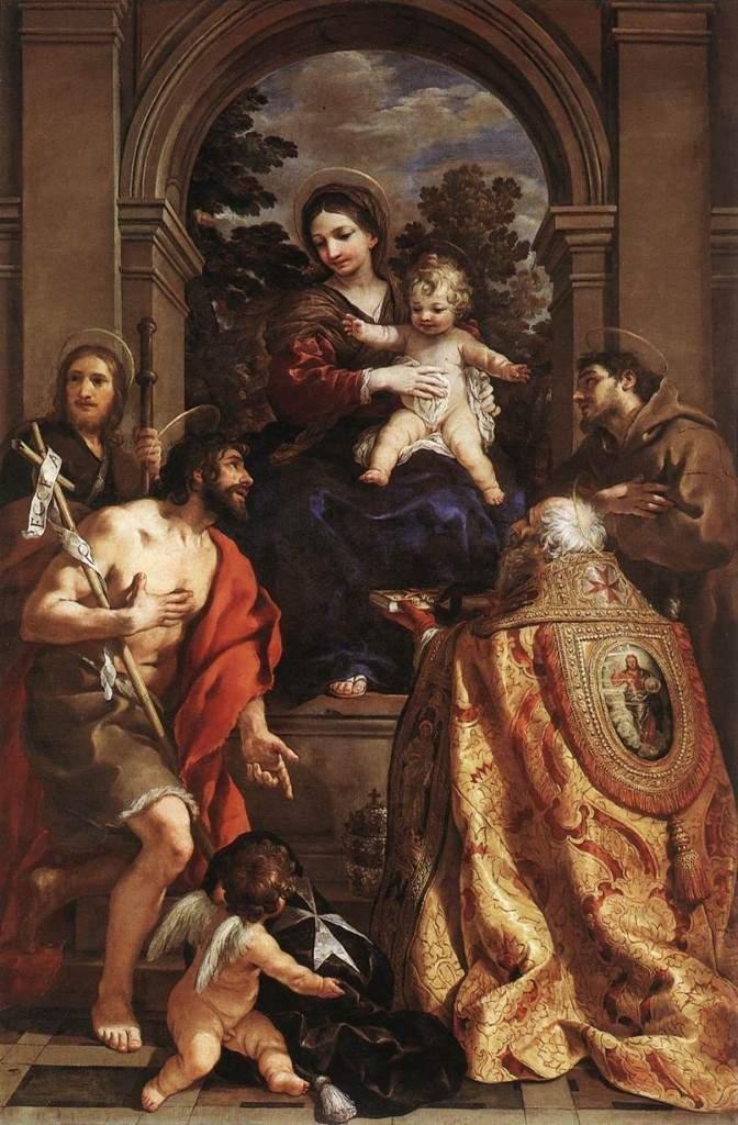 «Мадонна со святыми» 1626—1628
