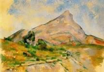 Гора Сент-Виктуар 1897-1898