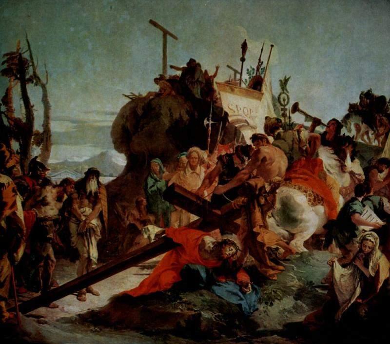 Крестный путь, Шествие на Голгофу