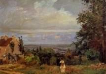 Landscape near Louveciennes