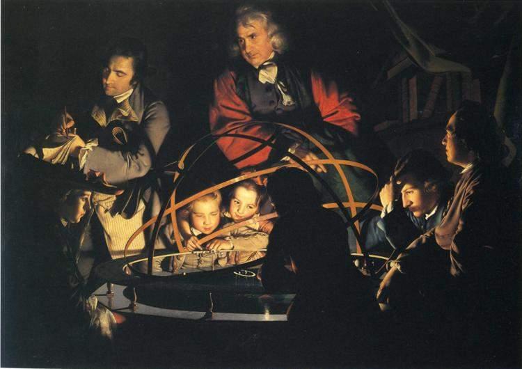 Лекция о солнечной системе 1763–1765