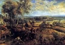Летний пейзаж с видом Хет Стина, 1635