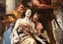 Мученичество св. Агаты . Около 1756