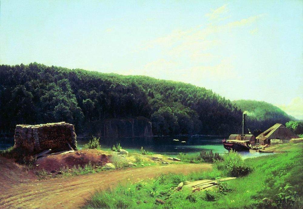 На острове Валааме 1869