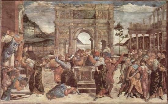 Наказание Корея, Дафана и Авирона