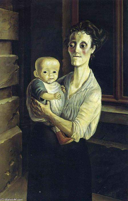 Otto-Dix-Mother-with-Child