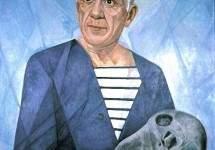 Portrait of Pablo Picasso 1956