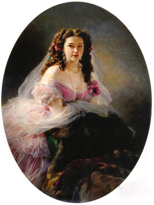 Портрет Варвары Римской-Корсаковой