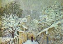 Ранний снег в Лувесьенне