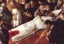 Смерть Св. Бонавентуры 1629