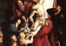 Снятие с креста, 1612