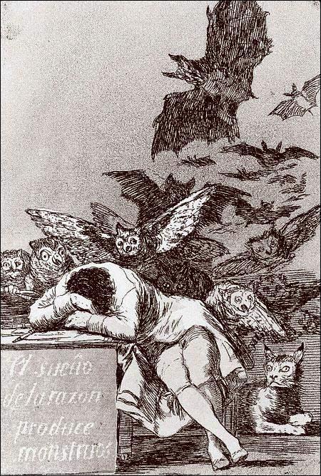 Сон разума рождает чудовищ, 1797