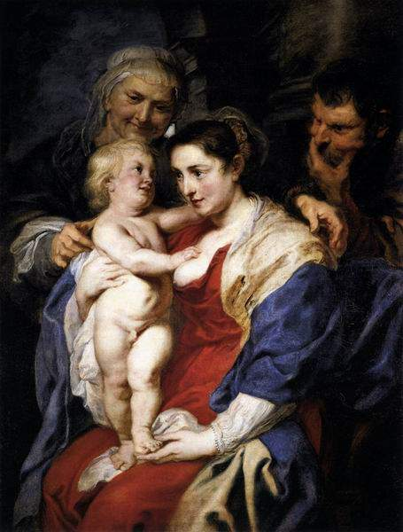 Святое семейство и Святая Анна, 1630