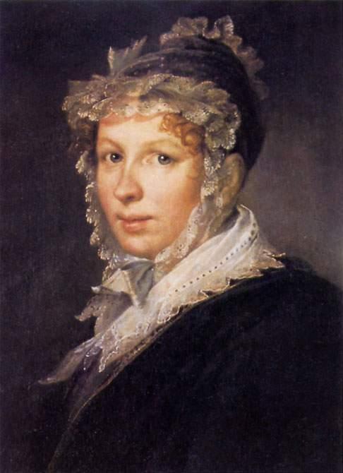 Портрет жены Анны , 1809