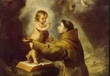 Видение св. Антония Падуанского