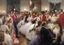 A Hunt Ball 1885