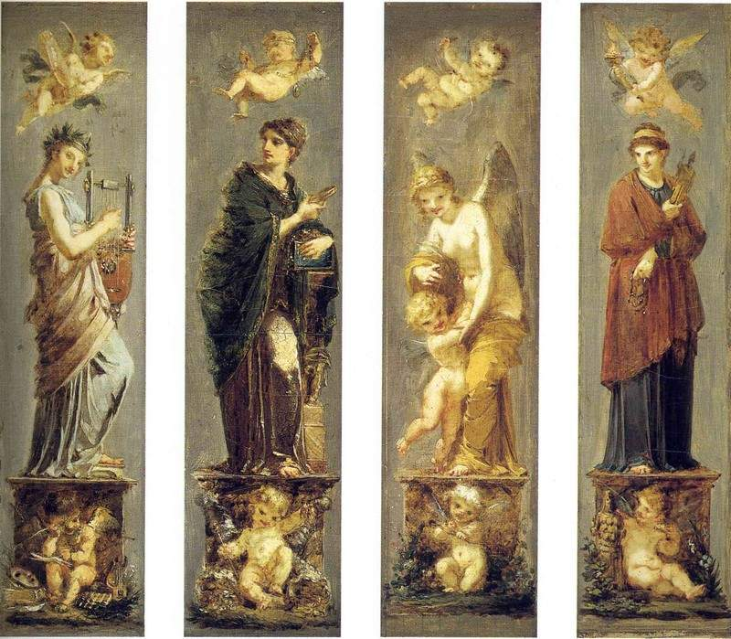 Arts, Wealth, Pleasure and Philosophy 1800
