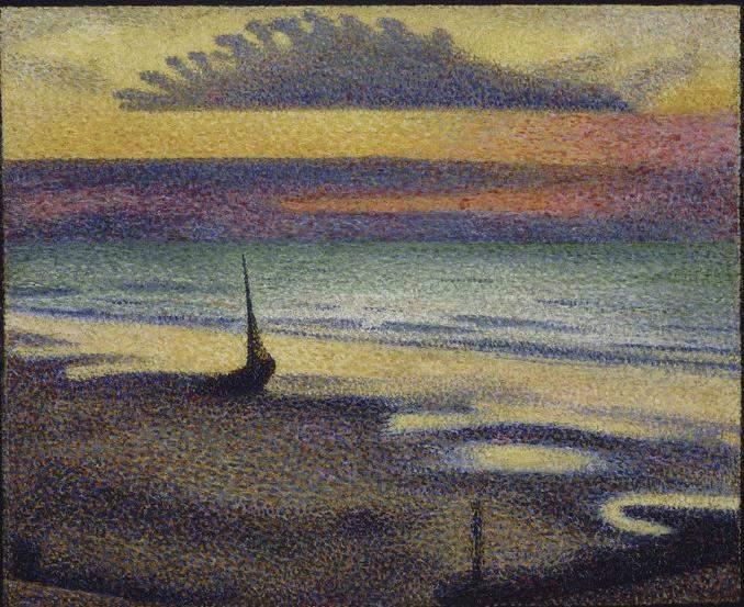 Beach at Heist 1891