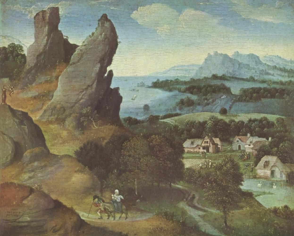 Бегство в Египет. 1515-1524