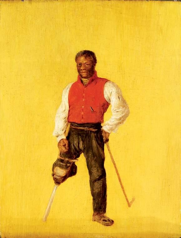 Billy Waters, mariner and street performer/ beggar 1815