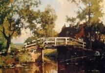 Bridge Near Estate Linschoten