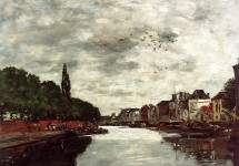 Canal near Brussels 1871