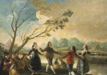 Dance of the Majos at the Banks of Manzanares 1777