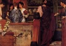 Адриан посещает римско-британскую гончарную мастерскую