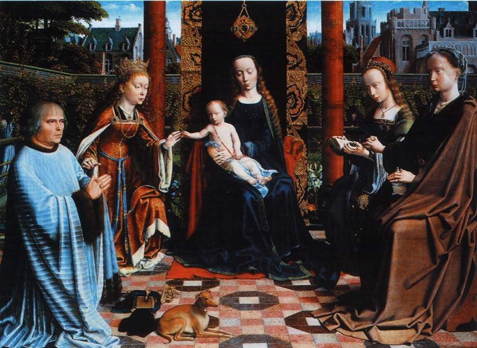 """Мадонна с Младенцем, Святыми и донатором"" 1510"