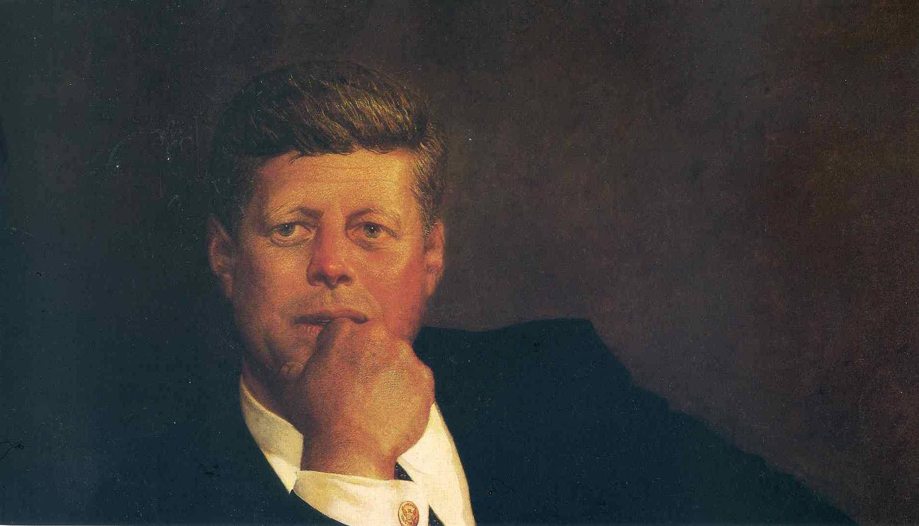 Портрет президента Джона Ф. Кеннеди 1967