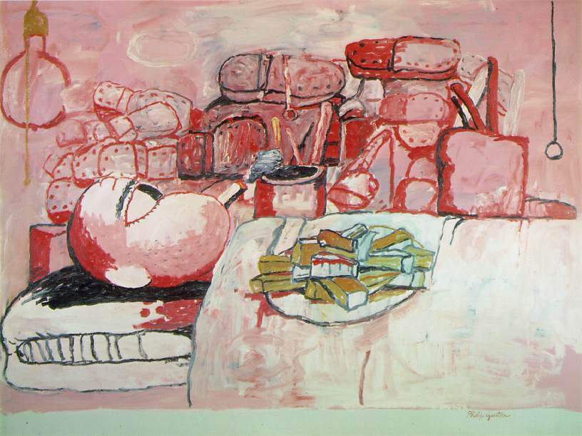 Painting, Smoking, Eating 1972