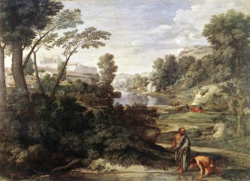 Пейзаж с Диогеном 1647