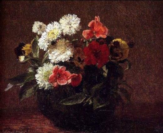 """""""Цветы в глиняной вазе"""""""