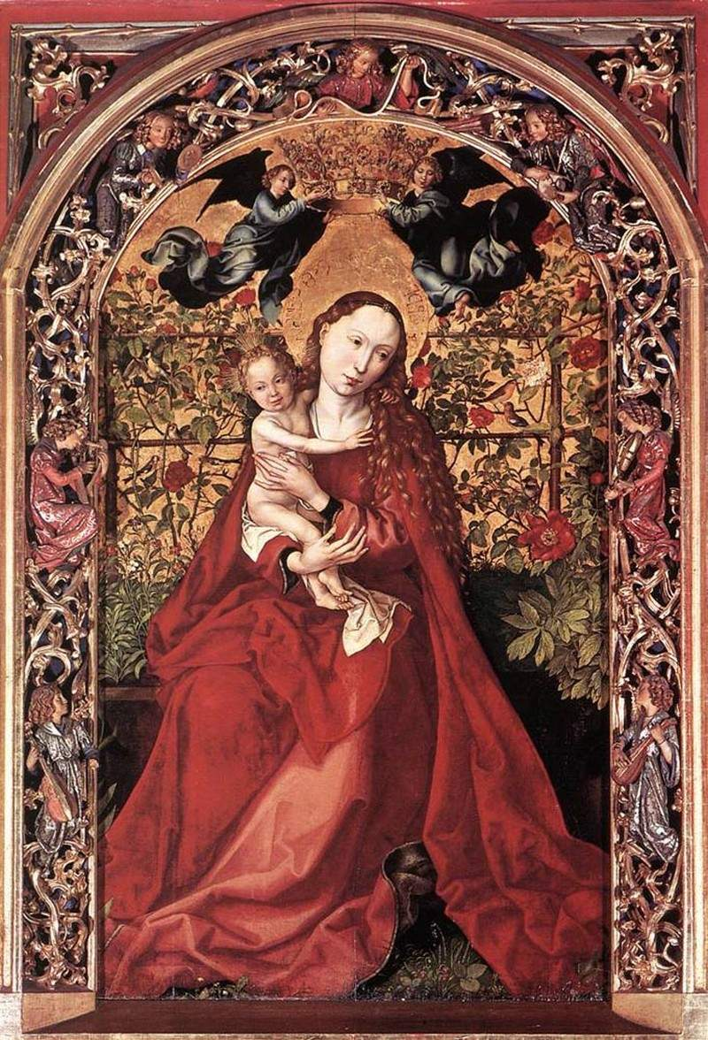 Madonna of the Rose Bush 1473