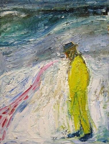 Man Walking in Snow 1999