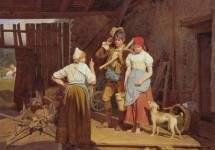 """""""Материнское наставление"""" 1850"""