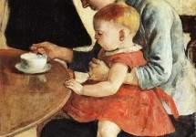 """""""Мать и  дитя"""" 1888"""