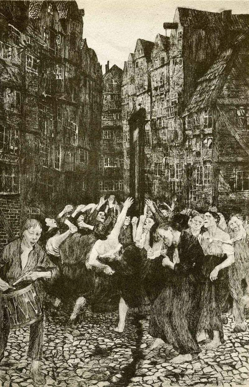 The Carmagnole (Dance Around the Guillotine) 1901