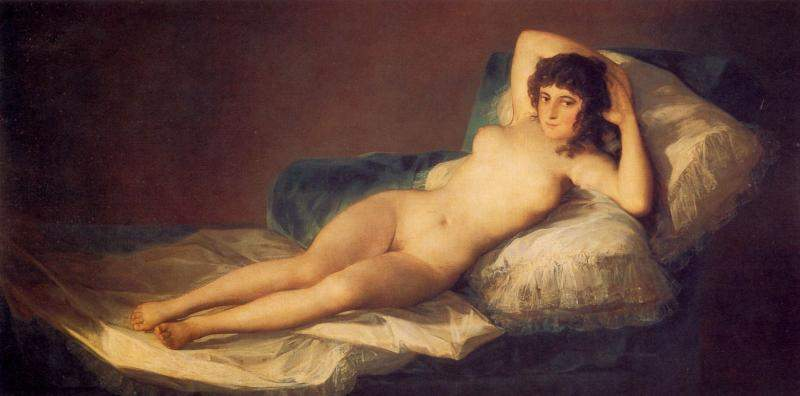 Обнаженная маха. 1795-1800